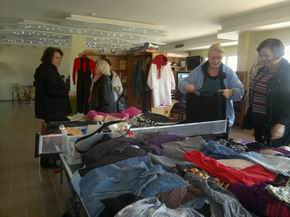 Clothing swap, The Lighthouse Community Centre