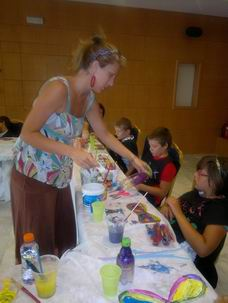 Kids' Handicraft Club,  The Lighthouse Community Centre